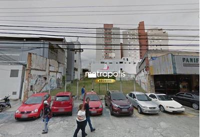 Terreno Para Alugar, 1200 M² Por R$ 25.000/mês - Rudge Ramos - São Bernardo Do Campo/sp - Te0119