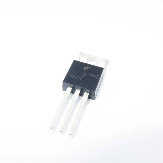 10 Pçs Transistor Tip31c - F129
