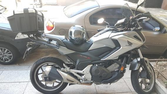 Honda Nc750x Con Accesorios