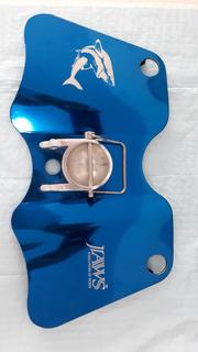 Placa Porta Varas Jig Aluminio Jaws Gimbal Plate