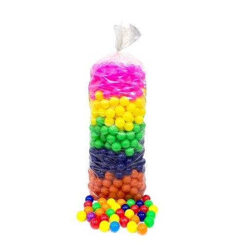 Saco Com 100 Bolinhas Coloridas P/piscina Selo-inmetro