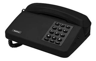 Telefone Unitel Padão Multitoc Com Chave Cor Preto