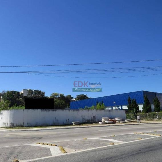 Terreno Para Alugar, 3700 M² Por R$ 32.400/mês - Vila Nair - São José Dos Campos/sp - Te0880