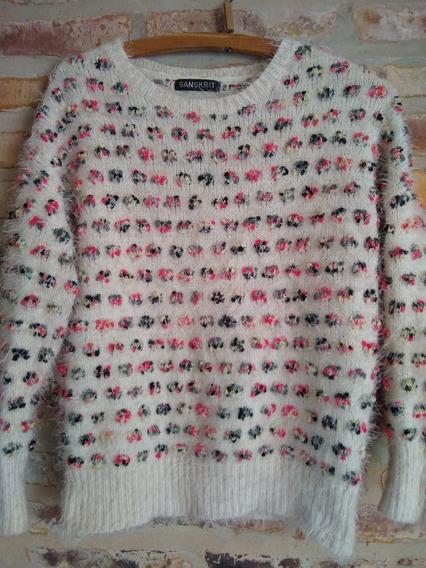 Sweater Sanskrit Pelo De Mono - Talle M