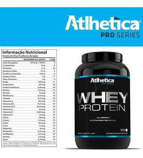 Whey Protein Atlhetica Nutrition Pro Series
