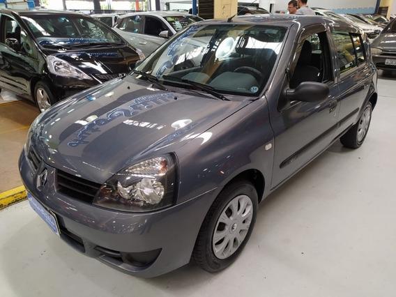 Renault Clio 1.0 Flex Campus Cinza 2011 (baixa Km)