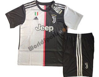 Kit Conjunto Infantil Juventus - Cristiano Ronaldo Cr7