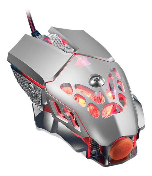 Rgb Rato Mecânico Mouse Jogo Rato Quatro Cores Respiração