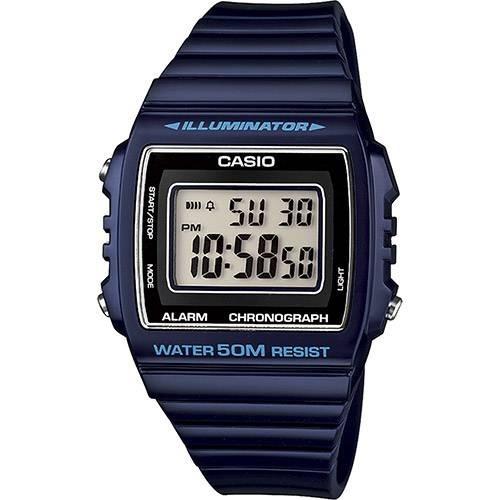 Relógio Casio Masculino Digital Vintage W-215h-2avdf