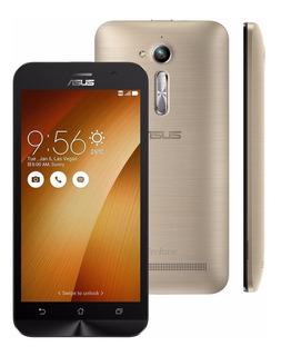 Zenfone Go Zb500kg Dourado 8gb, Tela 5 Frete Gratis 15 Dias