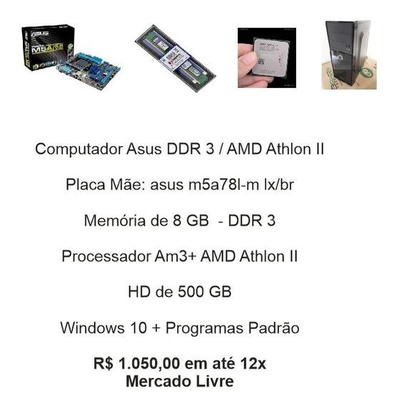 Computador Asus Ddr3 Socket Am3+