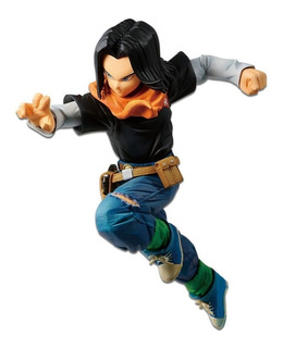 Dragon Ball Fighterz Android 17 Figure ( Original) Banpresto