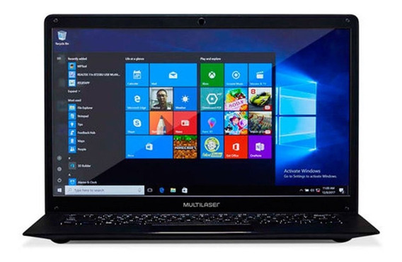 Notebook Legacy Quad Core Pc218 4gb 64gb Hd Multilaser