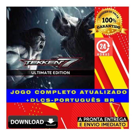 Tekken 7: Ultimate Edition + Todas Dlcs Pc Digital + Brinde