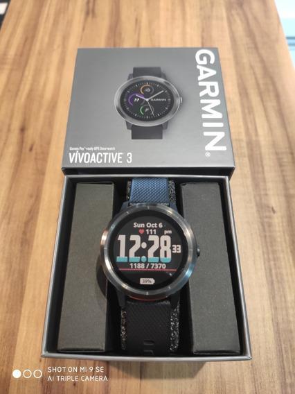 Relógio Garmin Vivoactive 3