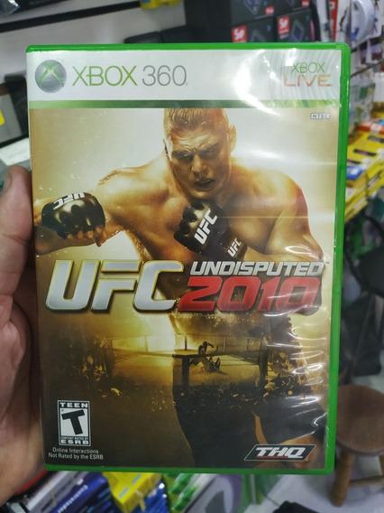 Ufc Undisputed 2010 Xbox 360 Usado Mídia Física Original