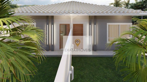 Lançamento! Casas Lineares 3 Quartos, Quintal, Enseada Das Gaivotas/ Rio Das Ostras! - Ca1293