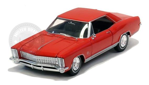 Miniatura Buick Rivieira Grand Sport 1965 Vermelho 1/24