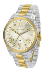 Relógio Lince Feminino Transparente - Lrt4473p C3hk