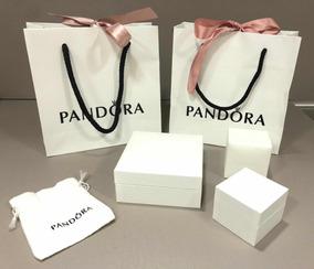 Embalagem Da Pandora 3 Caixas E 2 Sacolas