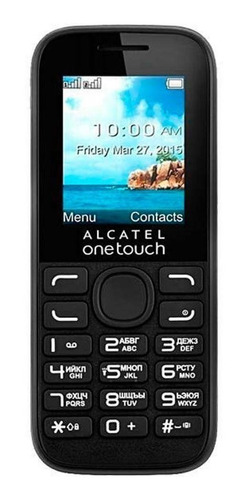 Cell Phone Dual Chip Alcatel On Touch 1052d Btooth Fm Camera