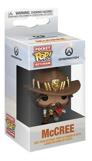 Funko Keychain Games Overwatch Mccree