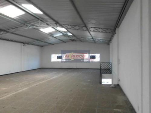 Sala Para Alugar, 250 M² Por R$ 4.000/mês - Jardim Presidente Dutra - Guarulhos/sp - Ai3773