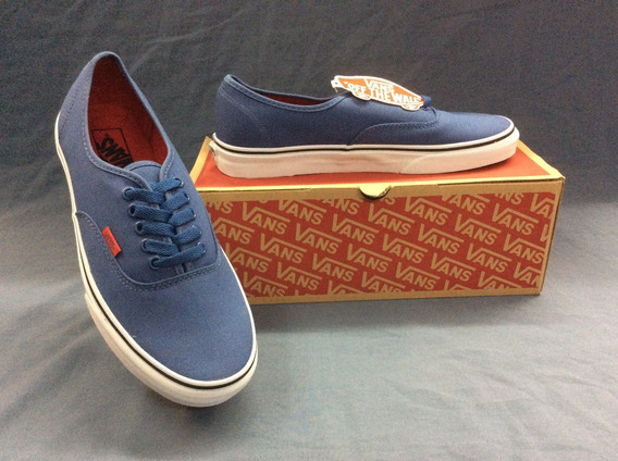 Tenis Vans Authentic (sport Pop) Azul/rojo