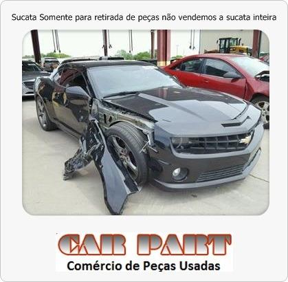Camaro Ss 2013 V8i - Sucata - Parachoque Capo Farol Airbag K