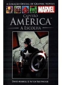 Coleção Graphic Novels Marvel 55 - Capitão América A Escolha