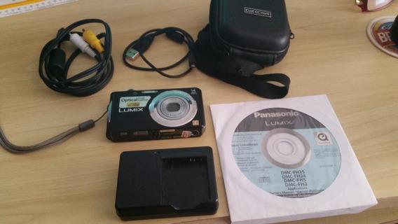 Câmera Panasonic Lumix Dmc-fh2 14mp