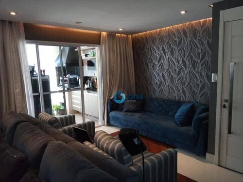 Apartamento Com 3 Dormitórios À Venda, 126 M² Por R$ 1.042.600,00 - Vila Suzana - São Paulo/sp - Ap7011
