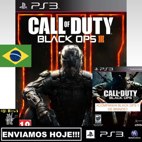 Call Of Duty Black Ops 3 Jogos Ps3 Psn Original Receba Hoje