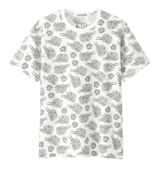 Playera Tshirt Kaws X Peanuts White Original
