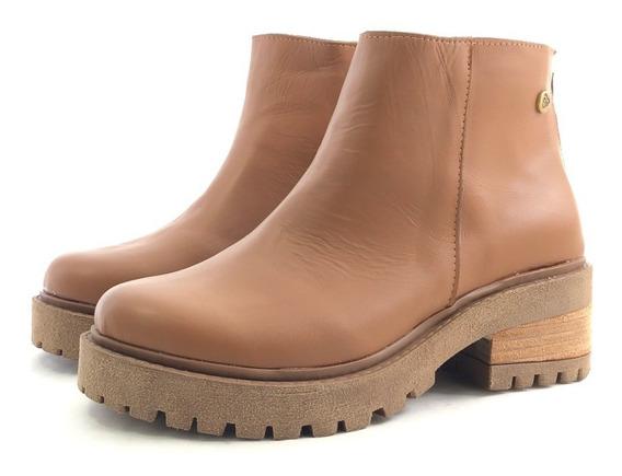 Citadina Victoria Borcego Cuero Moda El Mercado De Zapatos!