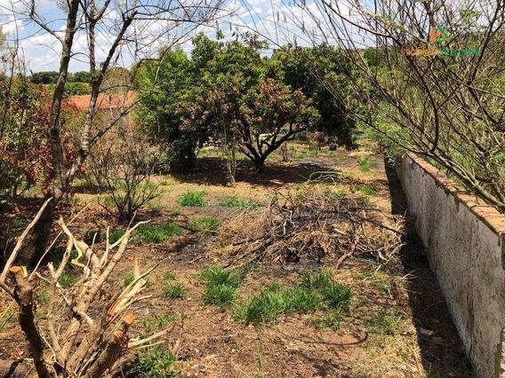 Terreno Á Venda Em Araçoiaba No Bairro Bosque Dos Eucaliptos -sp - Te0247