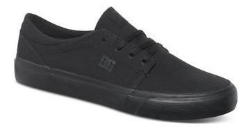 Tênis Dc Shoes Trase Tx Black