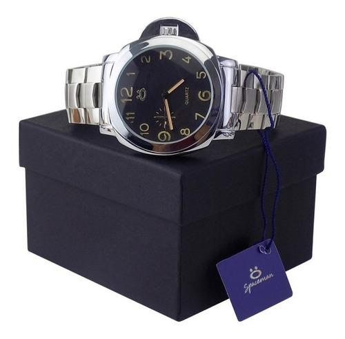 Relógio Masculino Original Aço Nfe Caixa Qualidade Garantia