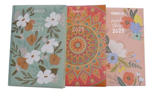 Agenda Omega 2021 Día Por Página Design Cod. 32