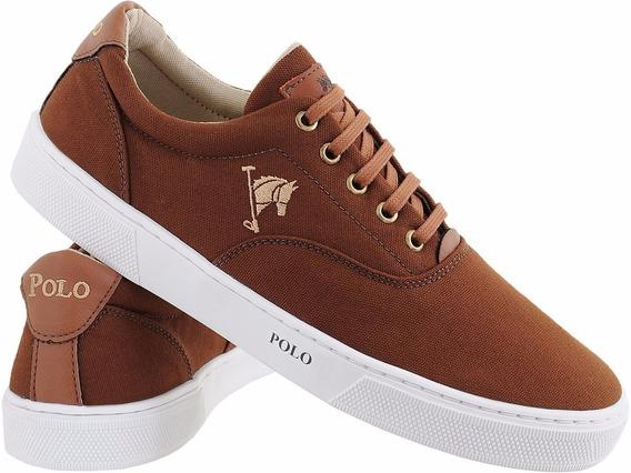 Sapatenis Polo Bra Masculino Sapato Casual Tamanho Especial
