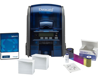 Impresora Tarjetas Datacard Sd160 + Ribbon + Tarjetas