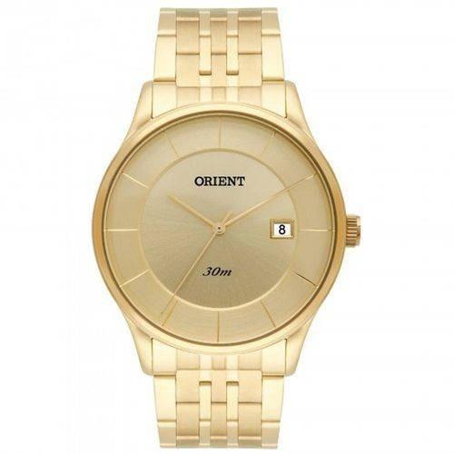 Relógio Orient Masculino Dourado Mgss1127 C1kx