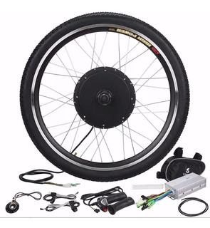 Kit Para Bicicleta Eléctrica 26¨ / 48v Dc 1000w / 36v 500w