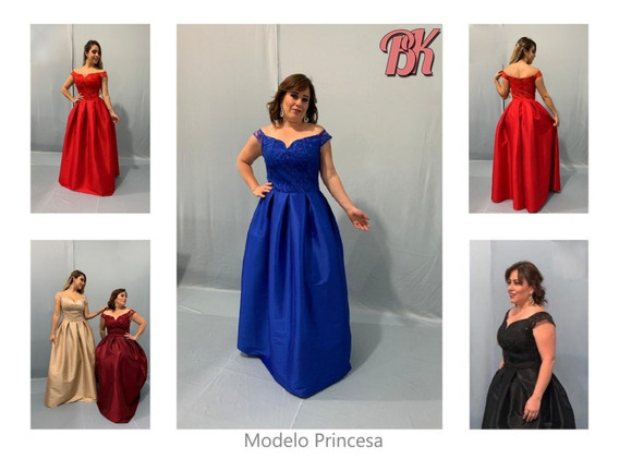 Vestido De Fiesta Modelo Princesa