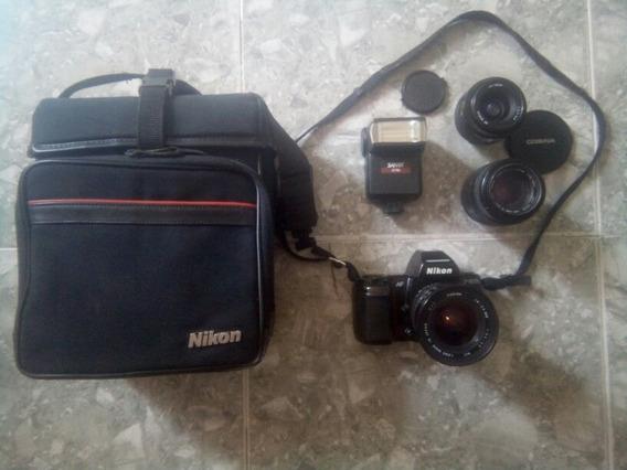 Camara Profesional Nikon F-801s