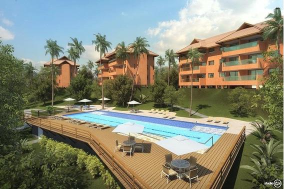 Flat Em Centro, Tamandaré/pe De 37m² 1 Quartos À Venda Por R$ 310.000,00 - Fl130427