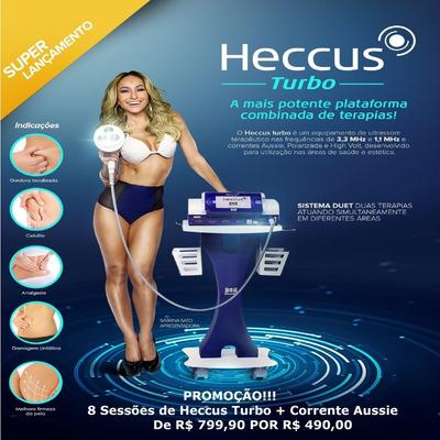 Tratamento Gordura Localizada+tonificação Muscular C/ Heccus