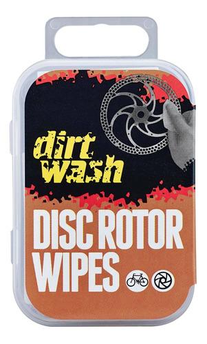 6 Paños Limpieza Para Discos De Frenos Dirtwash Weldtite