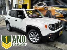 Jeep Renegade Sport 1.8 Flex 2018 Branca Completa 9.000km
