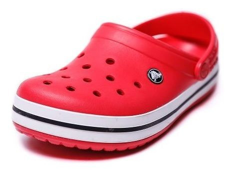 Zueco Crocs Crocband Roja
